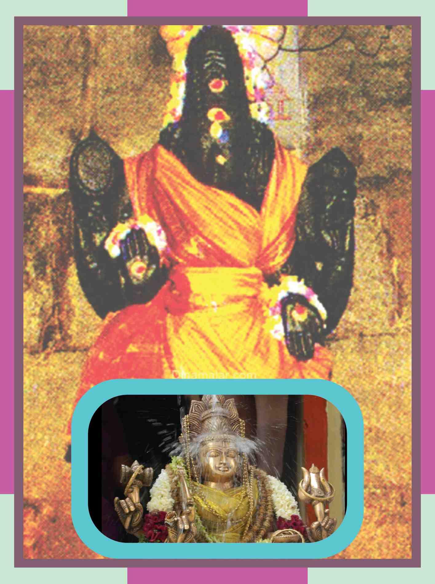 Kamarasavalli - Karkodeswarar Temple Abishekam for Kataka Rasi