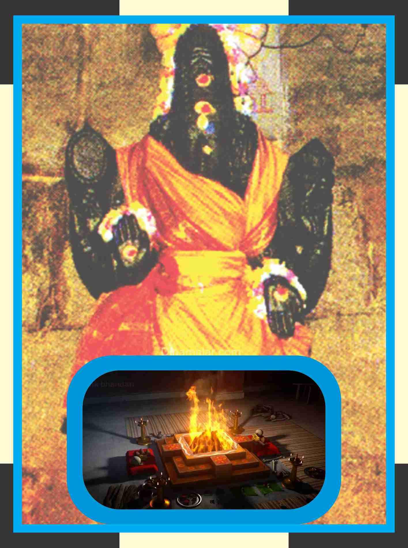 Kamarasavalli - Karkodeswarar Temple Homam for Kataka Rasi