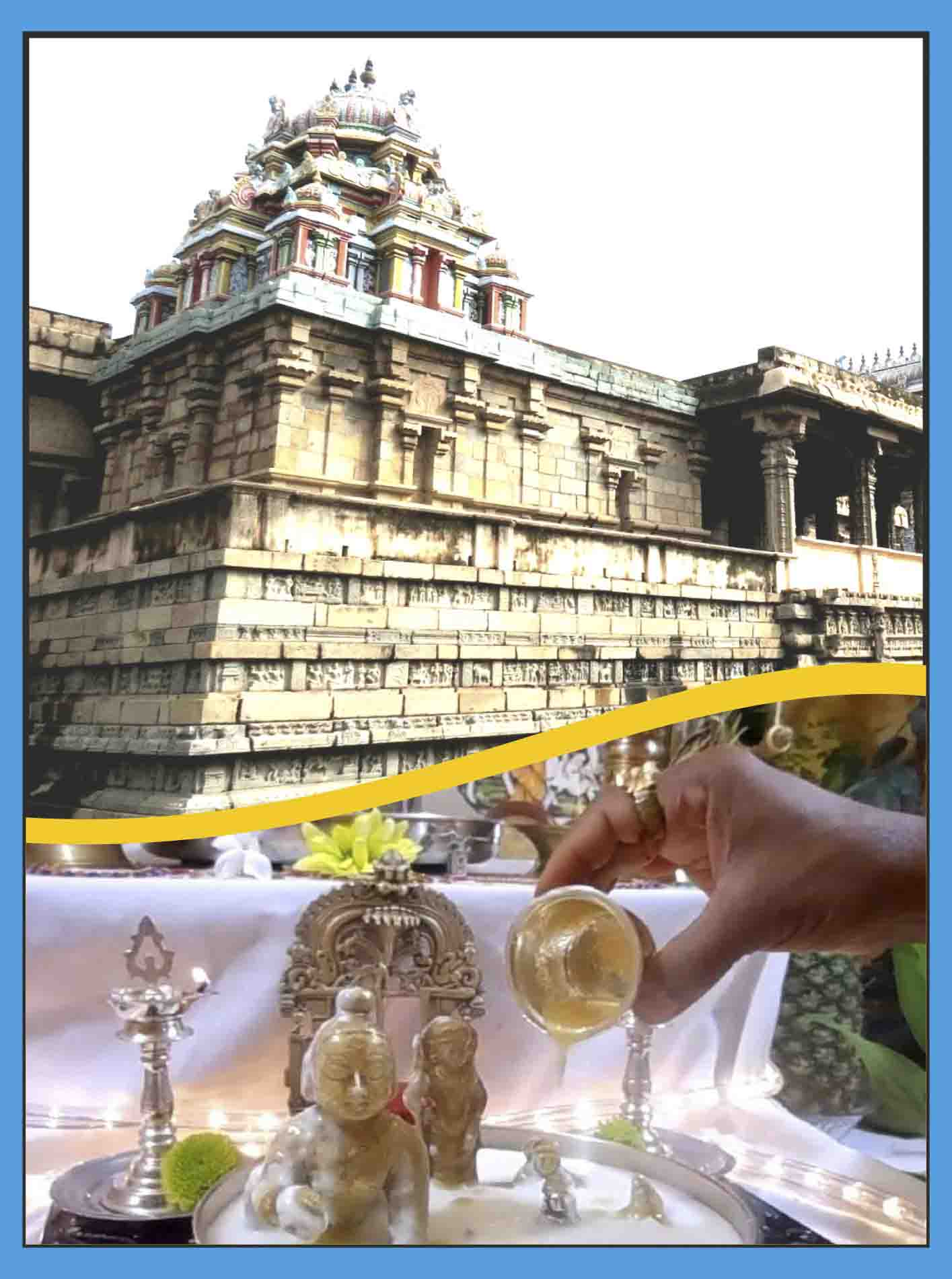 Thirubhuvanam - Sarabeswarar Abishekam