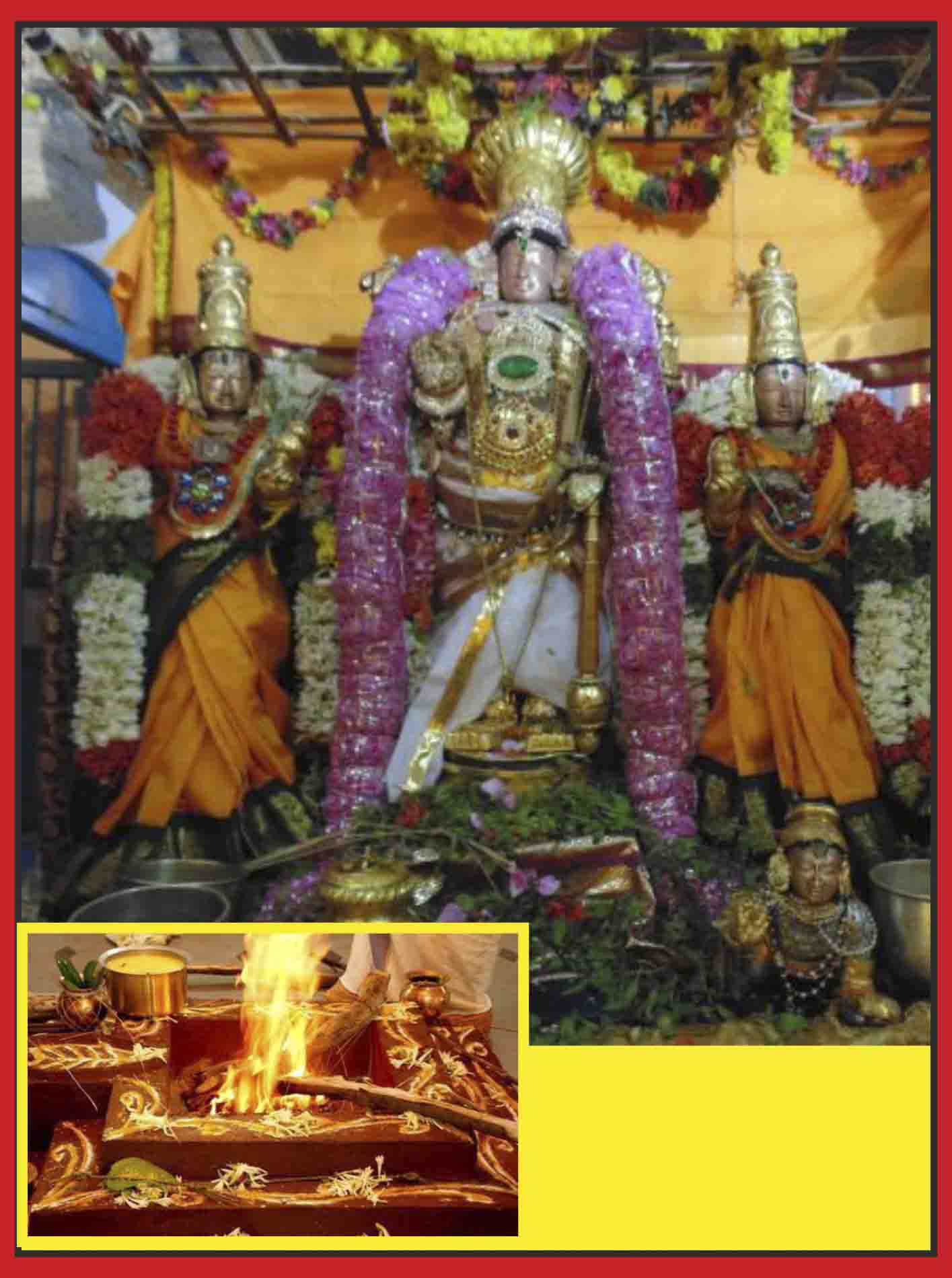 Thirucherai - Special Parihara Puja for Debts relief