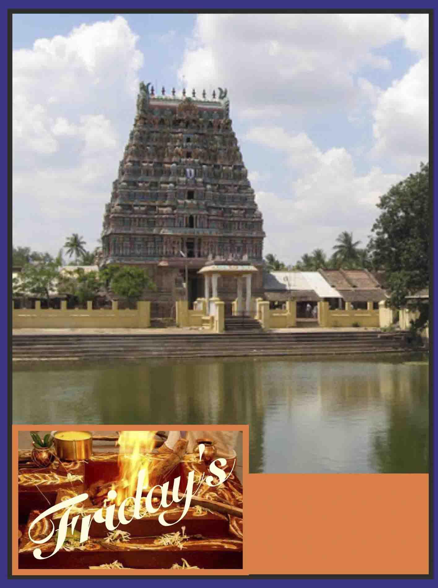 Thirucherai -  Runa Hara Rudra Homam on Friday