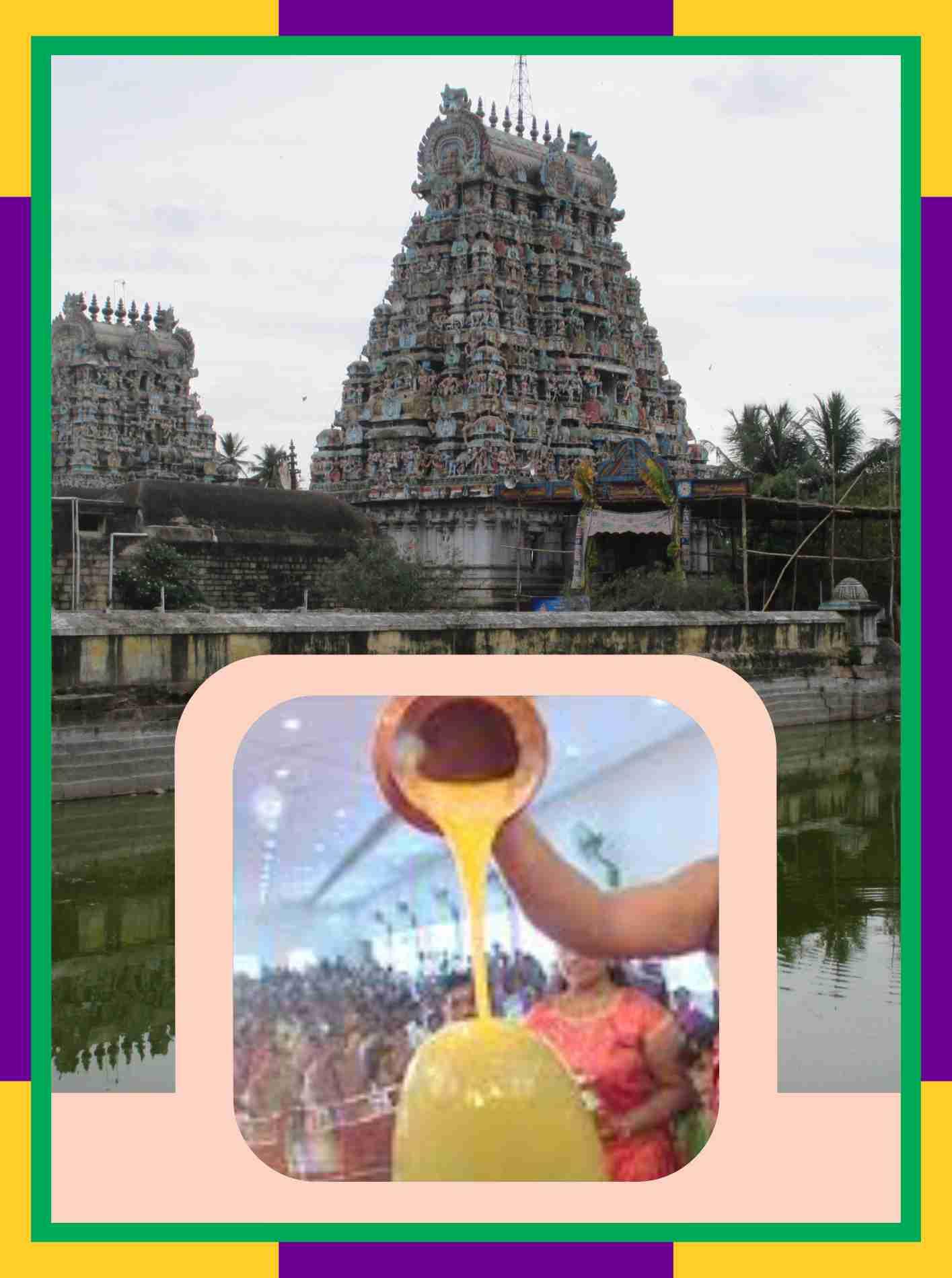 Thirupugalur – Agnipureeswarar Temple Swamy Ambal Abishekam for Sathayam Star
