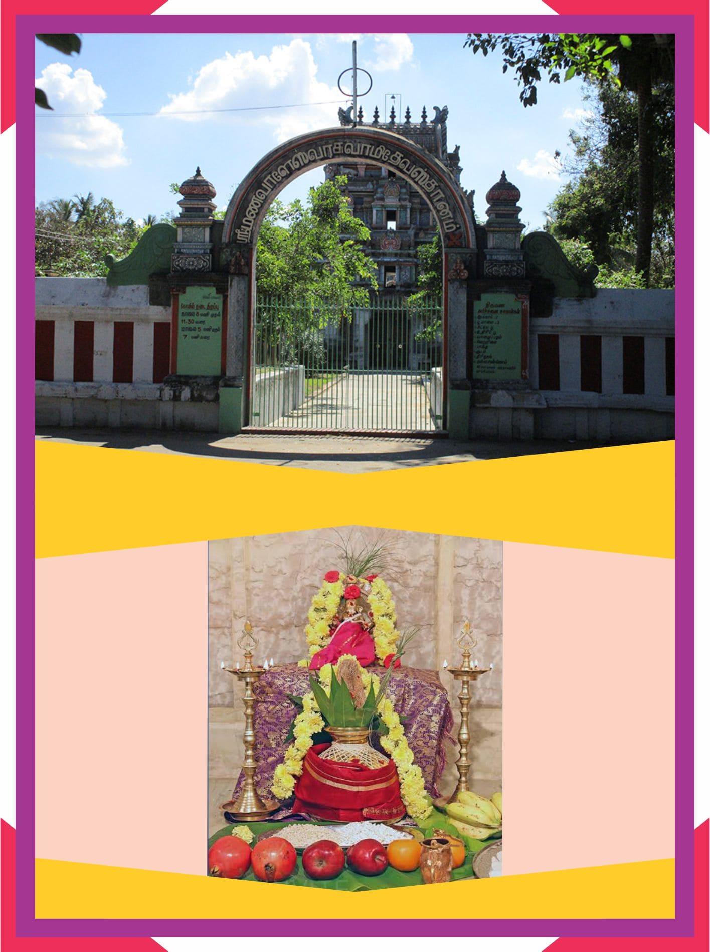 Thiruvelvikudi - Spl Parihara Puja