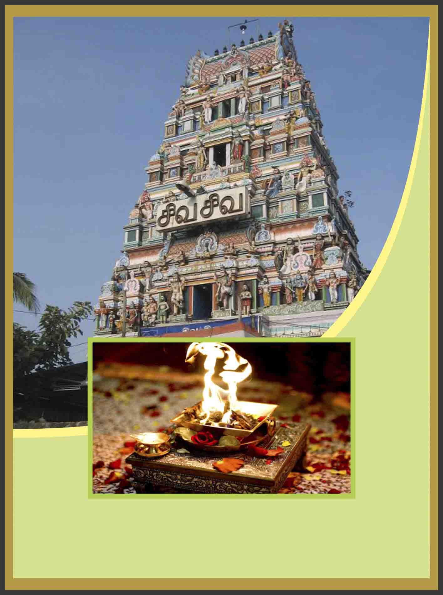 Thiruvenkadu-Budhan- Graha Parihara Homam