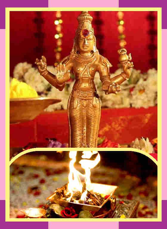 Thenthittaii-  Sri Vasisteshwarar Temple Spl Puja for Guru Bhagwan