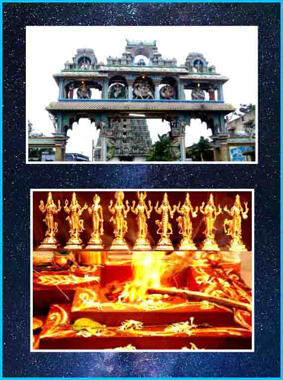 Thirukadaiyur - Navagraha Shanthi Homam