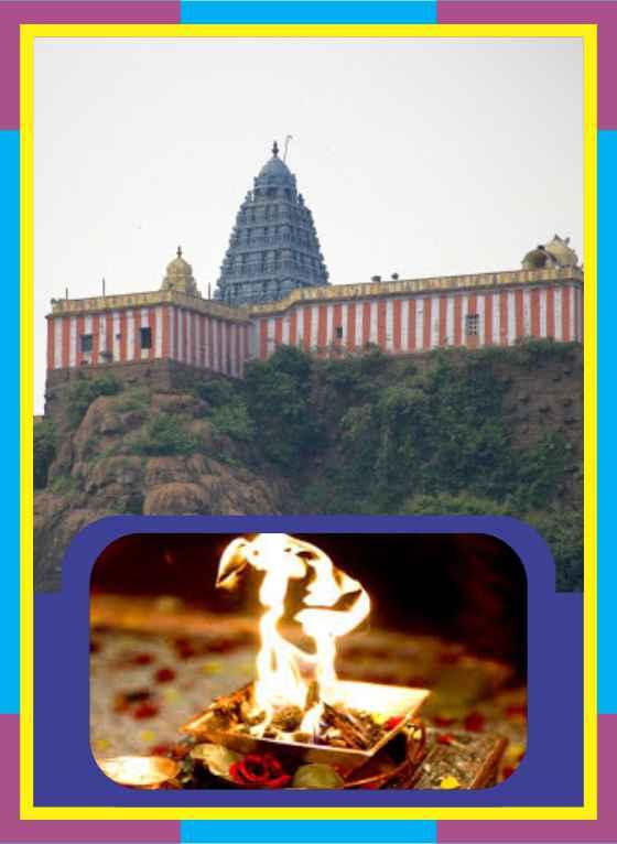 Thirukazhukkundram - Vedagiriswarar Temple Homam for Kanni Rasi