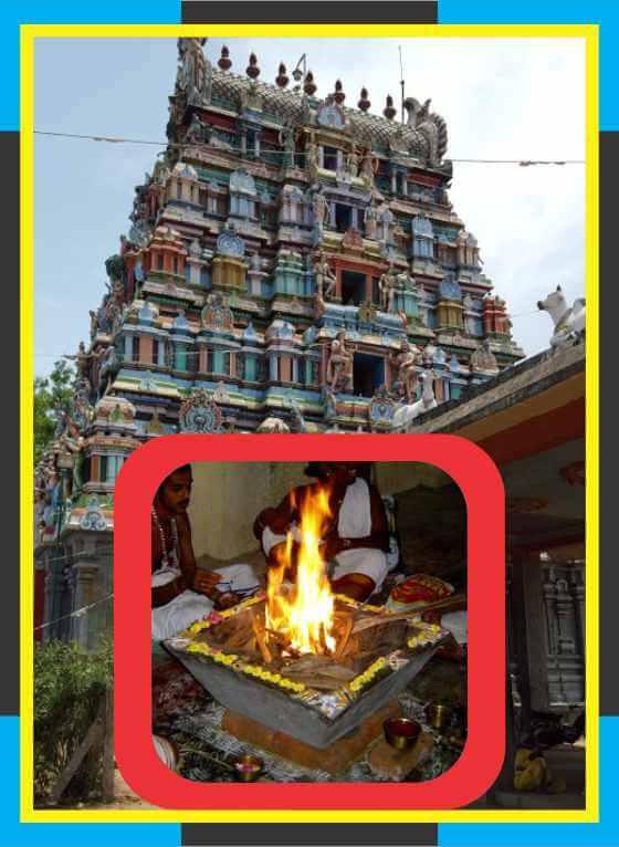 Thirukkattuppalli – Thiruvaneswarar Temple Swamy Ambal Homam for Poorattathi Star